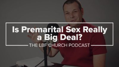 What's wrong with premarital sex?